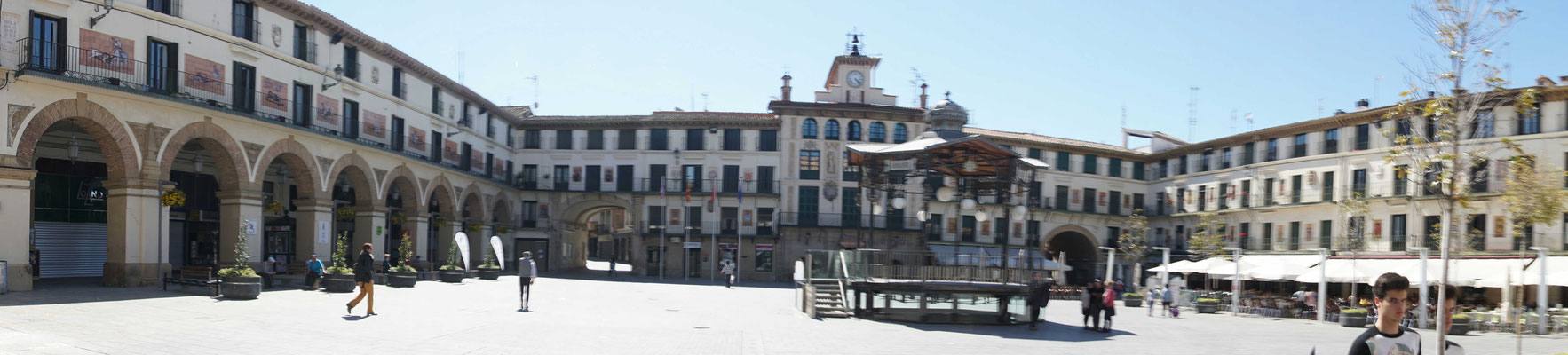 Plaza Mayor in Tudela...