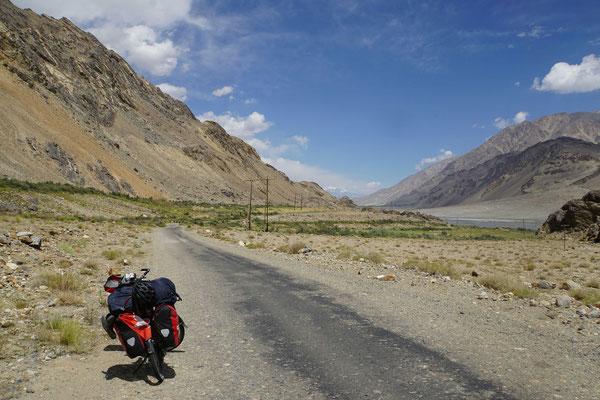 Endlosen Weiten auch im Wakhan...