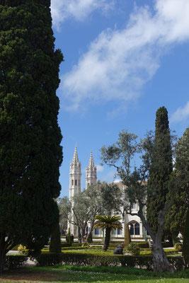 Schnappschuss vom westlichen Flügel des Mosteiro dos Jeronimos