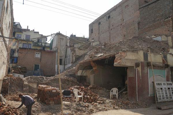 Wohnhaus in Kathmandu...