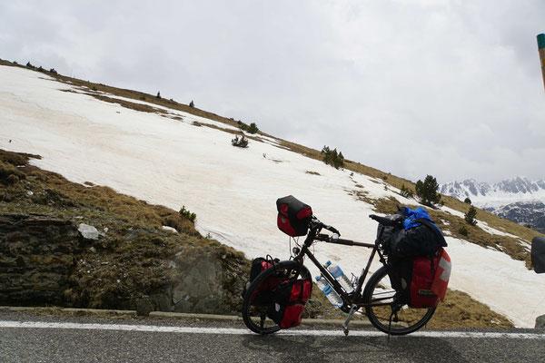 """Passpartu """"im Schnee""""..."""