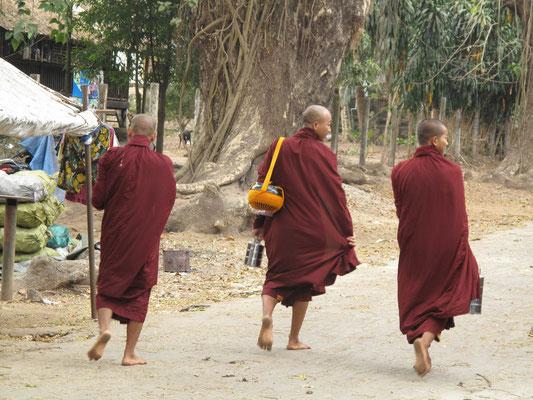 Mönche unterwegs...