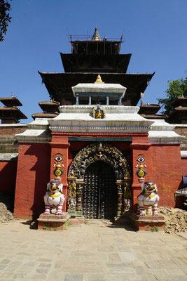 Dieser Tempelwird einmal im Jahr geöffnet und ist nur Hindus zugänglich...
