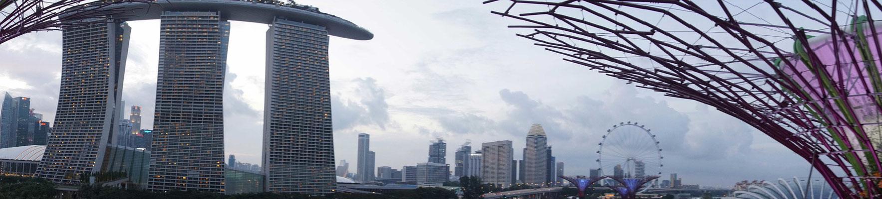 Singapur - Skyline - Downtown...