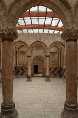 Zeremonienhalle im Ishak Pasha Palace...