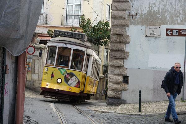 Ja s'28-zig, das muss man einfach gefahren haben, sonst ist man nicht in Lissabon gewesen