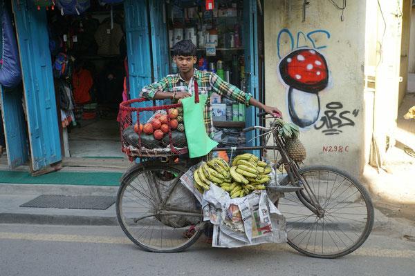 Vitaminvelo in Kathmandu...
