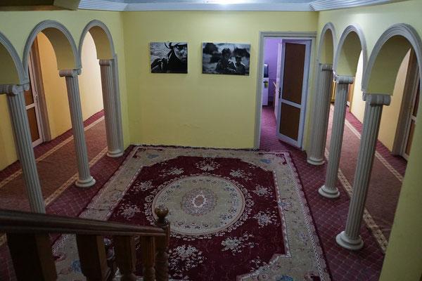 Korridor zu den Zimmer....