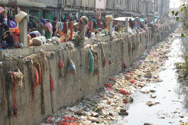 Manipur bzw. Imphal ist erstaunlich sauber - doch es gibt auch die Schattenseiten...