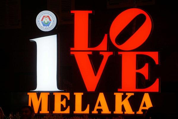 Auch in Melaka schreiben sie Velo falsch...