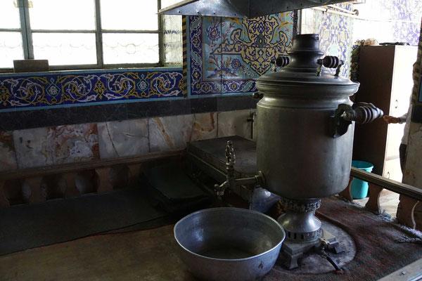 Auch in der Moschee gibts den Cat-Kocher...