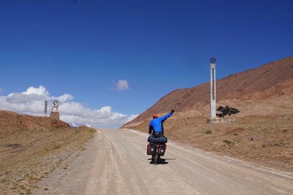 Der letzte Passe auf dem Pamir ist geknackt...