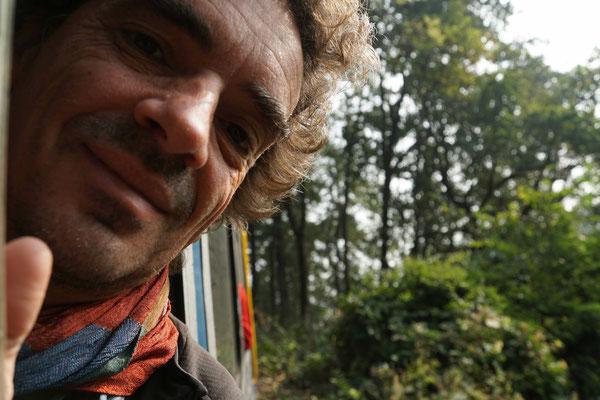 Auf der Fahrt nach Darjeeling...