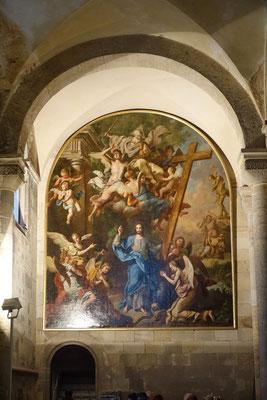 ein weiteres Wandbild der Kathedrale