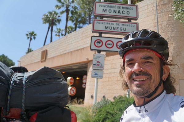 Monaco - mein letztes Land auf der Reise...