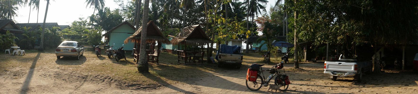 Abschied aus dem Lola Resort in Bang Sapahn - schön war's  hier, sehr schön....!