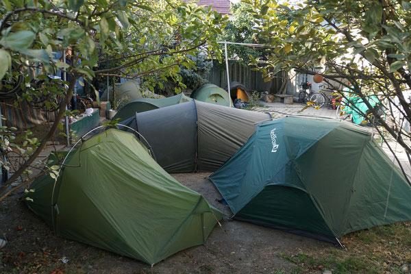 So wohnte ich in Bishkek - für 7$ die Nacht...