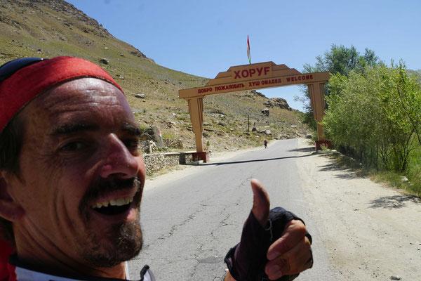 Kirtap triff in Khorug ein - nun ein, zwei Ruhetage und dann ab ins Wakhan Valley...