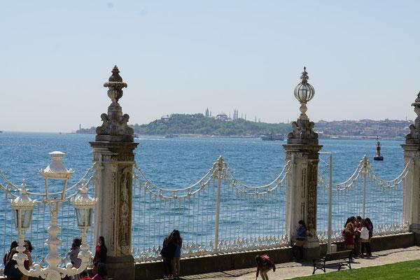 Am Ufer des Bosphorus...