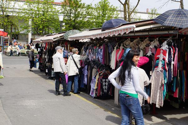 Markt in Ljubljana...
