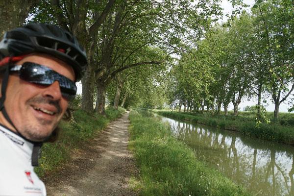 Entlang der Canals - einfach nur schön, solange es einen Weg gibt, den ich finde...