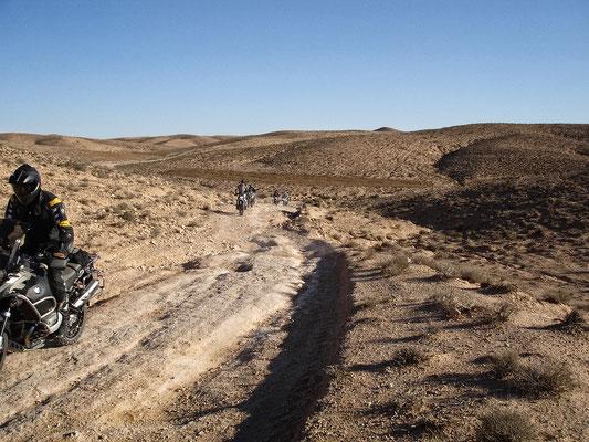 Tunesische Sahara mit der R1200 GS Adventure