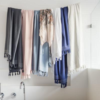 Walra hamamdoeken voor in de badkamer