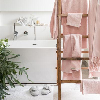 Roze hamamdoeken van Walra