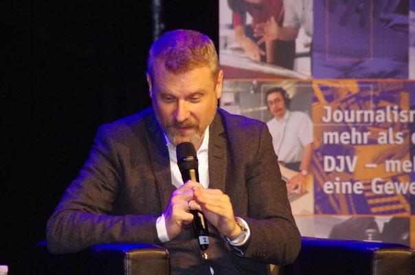 Prof. Dr. Christian Stöcker, Studiengangsleiter Master Digitale Kommunikation an der HAW, Foto: Günther von der Kammer