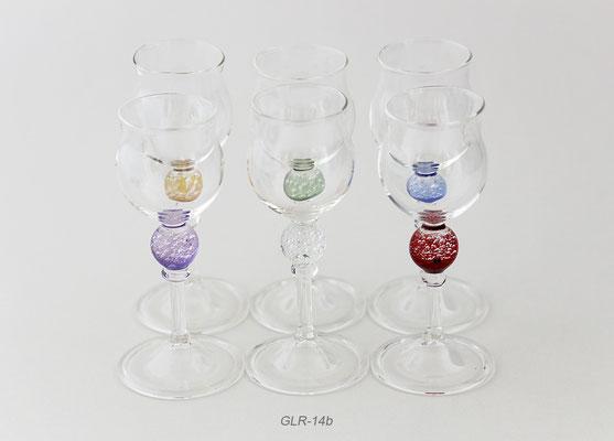 Schnaps/Likörglas pro Glas 17.-