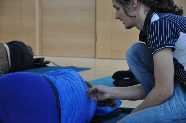 """Beim NeuroScanBalance Workshop """"Gesundheit für den Ganzen Körper"""""""