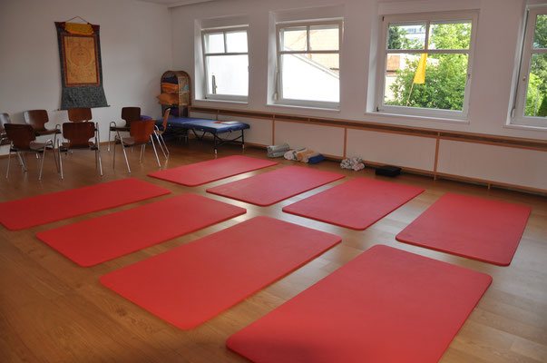 NeuroScanBalance Workshop in Dornbirn - der Raum
