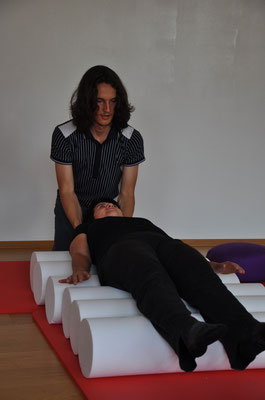 Daniel Lerch beim NeuroScanBalance Workshop in Dornbirn
