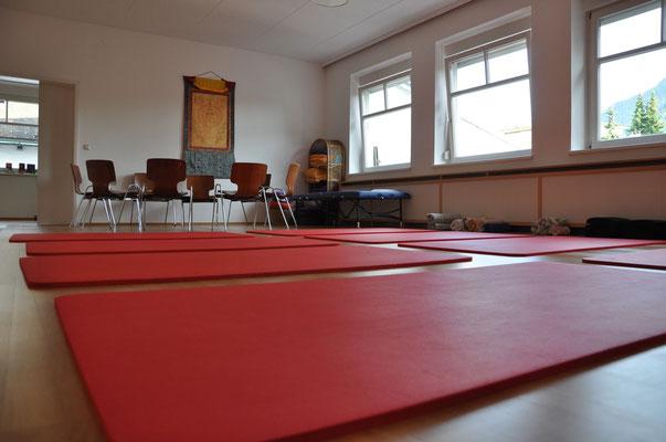 NeuroScanBalance Workshop in Dornbirn - der Raum