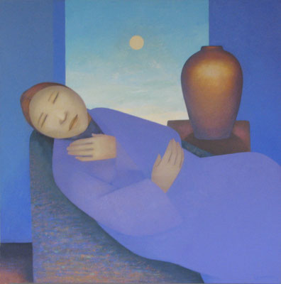 Dreaming Woman
