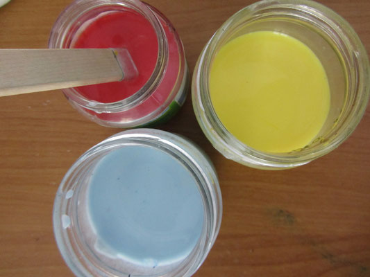 Farbki z mleka