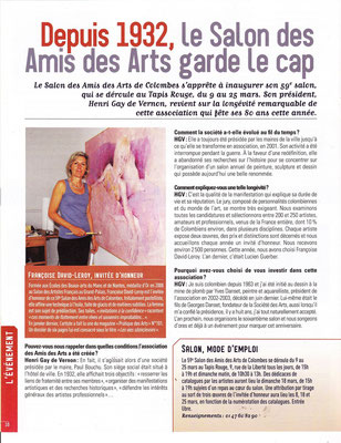 2012_0308 e Invitée d'Honneur à Colombes  presse évènement