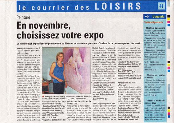 2011_1109 St Germain en Laye - Expo perso Musée Vera