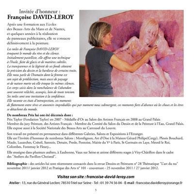 2012_0308 Invitée d'Honneur à Colombes page catalogue