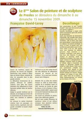 2009_1108 Invitée d'Honneur au Salon de Presles