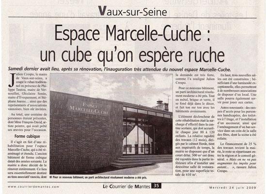 2009_0620 Inauguration Marcel Cuche Vaux sur Seine