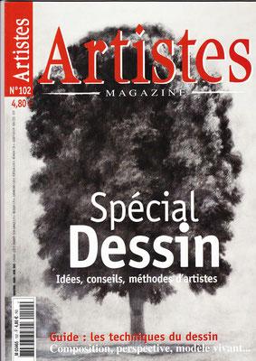 2003 avril - Artistes Magazine - n°102