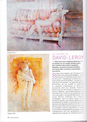 "Univers des Arts - n° 139  - ""Le monde de DAVID-LEROT"" - Mars 2009"