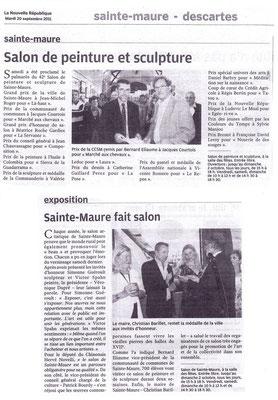 2011_0918 Ste Maure de Touraine - Prix Brenot