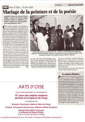 2004_0508 au 16 Invitée d'honneur maison de Gérard Philippe 10ème salon