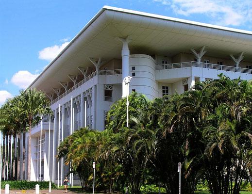 Das Parlamentsgebaeude von Darwin