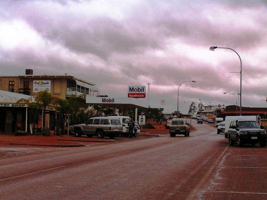 Hauptstrasse von Coober Pedy