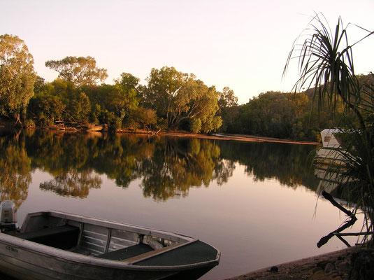Morgenstimmung im Nitmiluk-Nationalpark (früher Katherine-Gorge-Nationalpark)