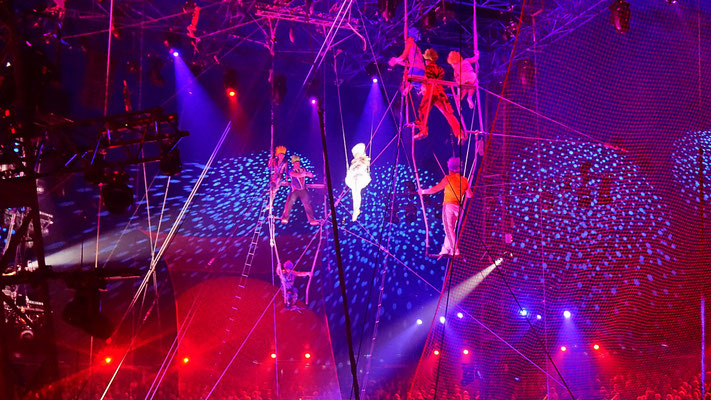 Truppe   Aliev 'Dante'  - fliegendes Trapez
