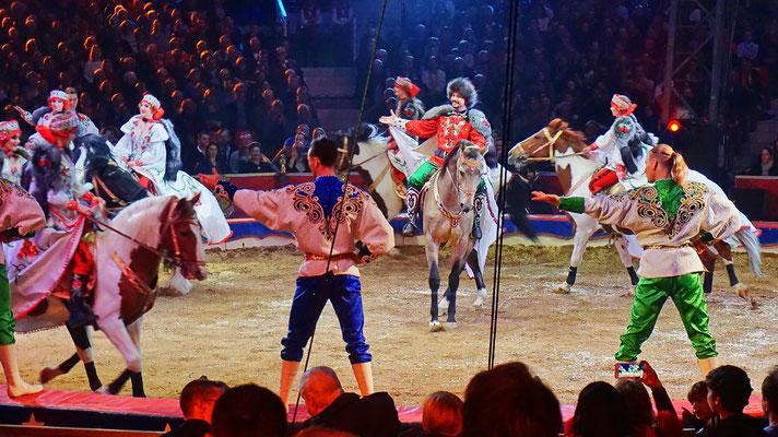 Der Gia Eradze Royal Circus aus Russland